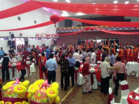 new year open house malaysia lui cha at the protasco new year open house
