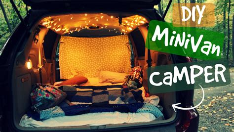 Small Kitchen Ideas On A Budget minivan camper conversion for quot glamping quot on a budget