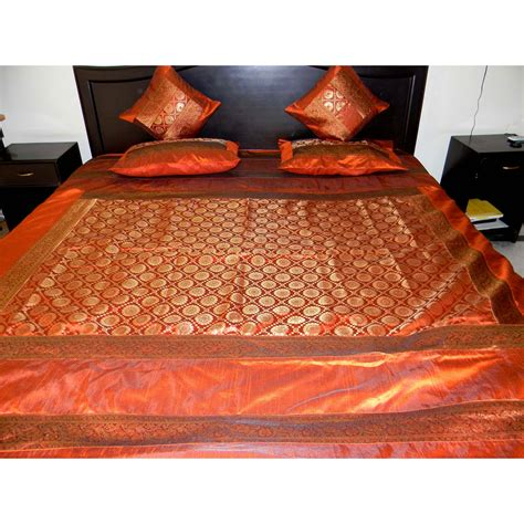Cool New Catalog Brocade Home by Brocade Rust Colored Bed Set Shopping
