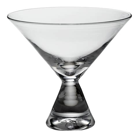 stemless martini glasses simon pearce clear base stemless martini glass gump s