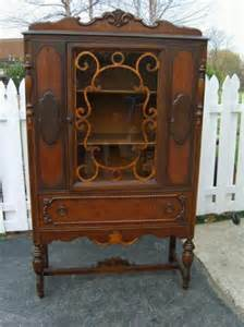 Curio Cabinets Antique Antique Curio Cabinet Memories Remember When Pinterest