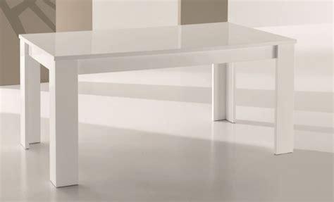 tavoli laccati bianchi tavolo moderno rettangolare allungabile laccato mobili e