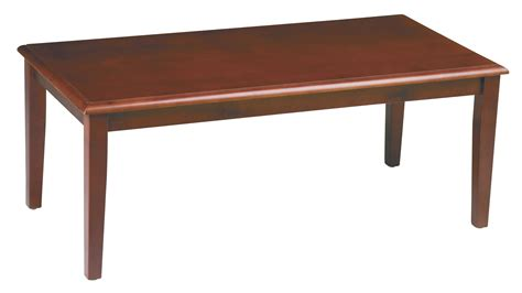 office cherry finished coffee table by oj commerce