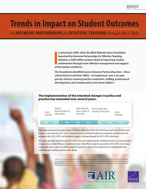 trends 1 students 2014 996351085x trends in impact on student outcomes the intensive partnerships for effective teaching through