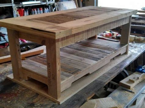 Coffee Table Made Of Pallets Pallets Made Coffee Table Pallet Ideas Recycled Upcycled Pallets Furniture Projects