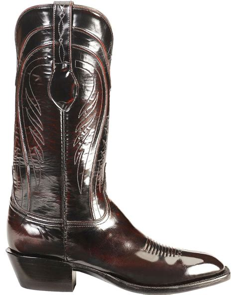 Handcrafted Boots - lucchese s handcrafted classics seville goatskin boot