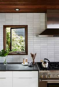 modern backsplash ideas for kitchen unique kitchen backsplash inspiration from fireclay tile