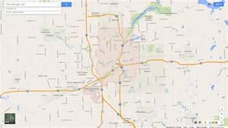 Map Flint Michigan by Flint Michigan Map