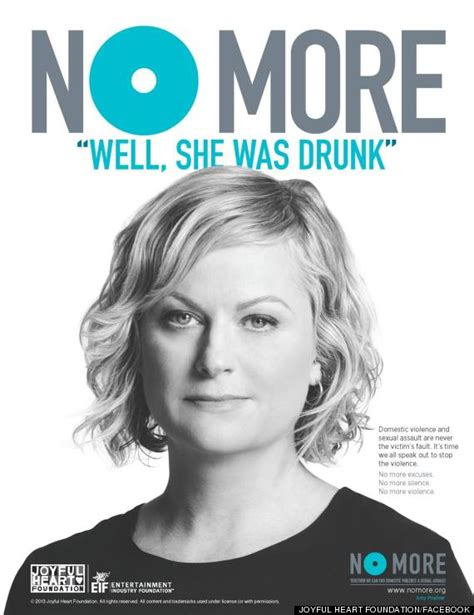 No More In The Media by Mariska Hargitay And Poehler Say No More To