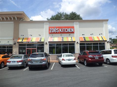 zoes kitchen tallahassee