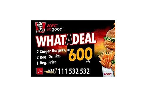 kfc multan deals