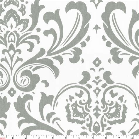 grey damask pattern gray traditions damask fabric by the yard gray fabric