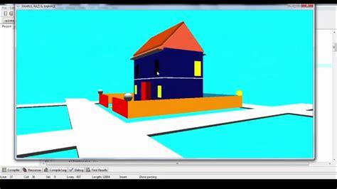 membuat rumah 3d dengan opengl tutorial membuat rumah dengan opengl youtube