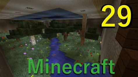 minecraft episode 29 indoor garden build youtube