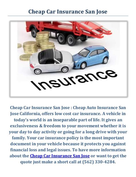 Inexpensive Auto Insurance by Cheap Car Insurance San Jose Cheap Auto Insurance Agency
