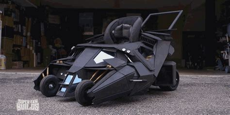 prepare to be insanely jealous of a toddler s batmobile