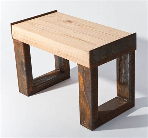 wood beam bench this bench is made from a reclaimed wood beam and various
