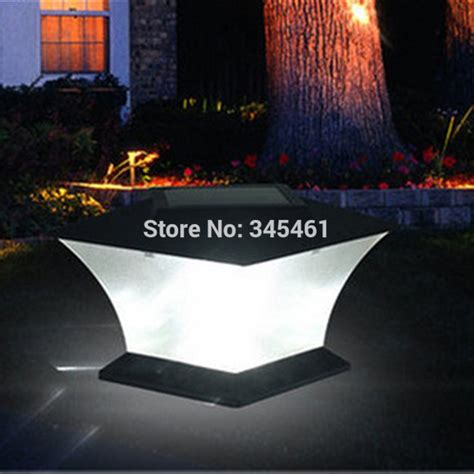 extra bright light bulbs ultra bright 7 quot solar post cap light with bright leds