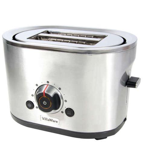 Villaware Toaster villaware 2 slice stainless steel toaster iwoot