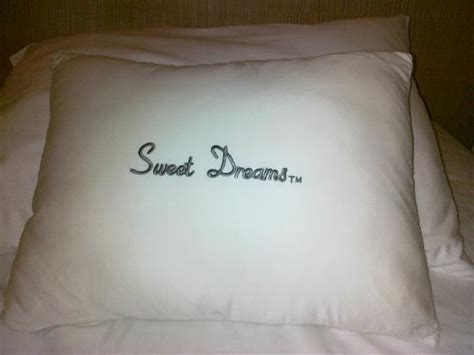 sweet dreams pillow picture of doubletree by