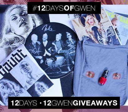One Day Sweepstakes - one day sweepstakes opi 12 days of gwen today vogue issue signed by gwen stefani