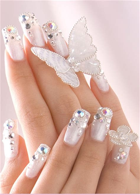 Nail Styles by Fashion Trend Bridal Nail Styles