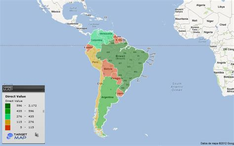 south america map by country south america map of south american countries by by