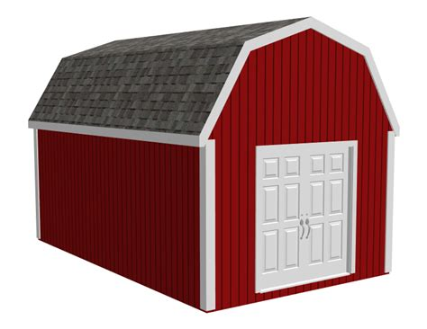 shed plans  gambrel   learn diy building