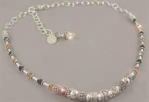 unique and sophisticated monogram necklace ldv design for
