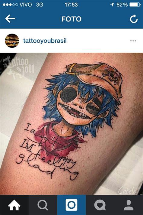 gorillaz tattoo designs 21 best tattoos images on ideas