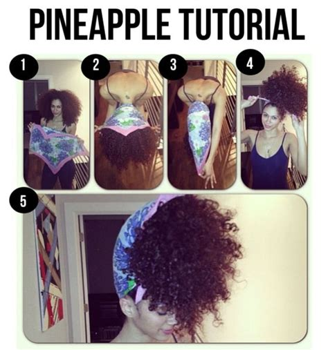 How To Wear Your Hair To Bed by 25 Best Ideas About Pineapple Hairstyle On