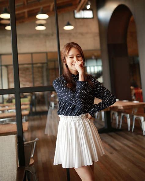 Special Rok Korea Pita Kuning Import Terbaru rok korea putih cantik model terbaru jual murah