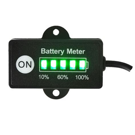 how to reset the car battery indicators on a 2006 porsche cayenne 12 volt mini battery gauge 5led battery meter indicator for car motorcycle golf carts in energy