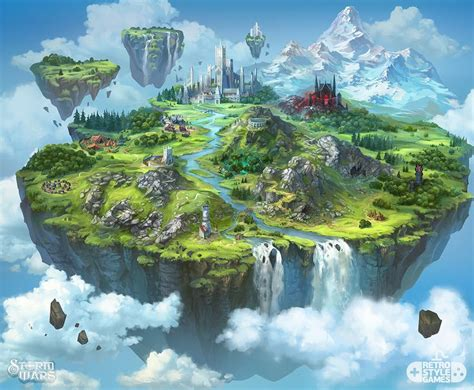 The Floating Island floating islands map pictures to pin on pinsdaddy