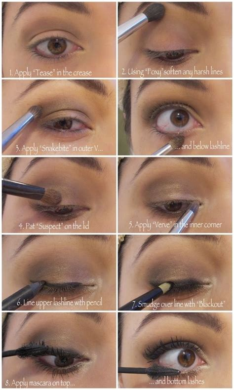 tutorial makeup ultima 2 glamour makeup with makeup step by step pictures with how