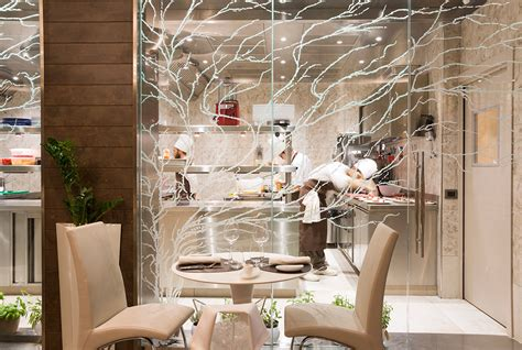 ristorante cucina a vista cucina a vista design il dehor