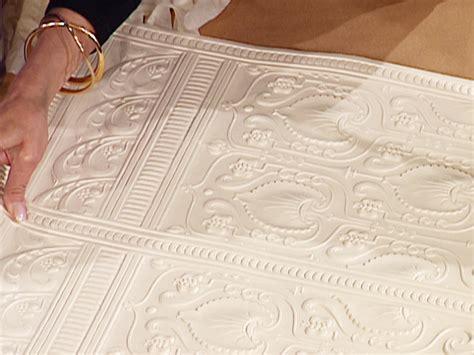 Tapisserie Relief by Pose Papier Peint En Relief Bricobistro