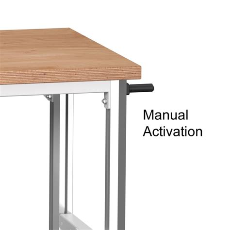 height adjustable bench stepless height adjustable bench 1500w manual operation
