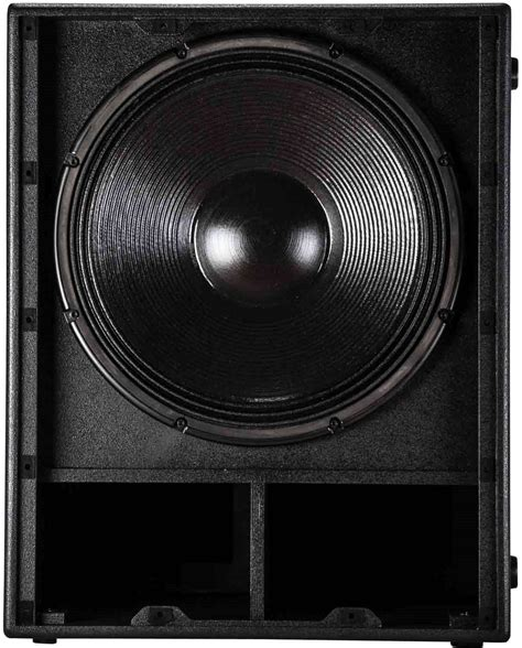 Speaker Wisdom 18 Inch rcf sub8004 as powered 18 inch subwoofer pssl