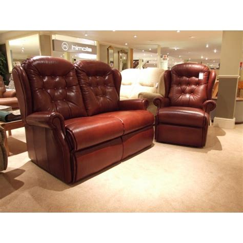 leather sofas outlet sherborne lynton 2 seater leather sofa recliner clearance