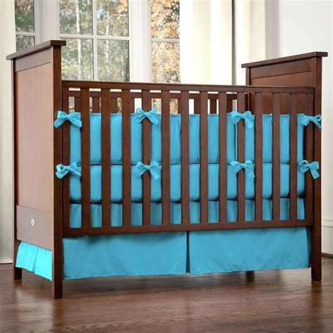 Vikingwaterford Com Page 114 Solid Turquoise Crib Solid Brown Crib Bedding