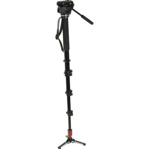 manfrotto 561bhdv 1 fluid monopod and b h photo