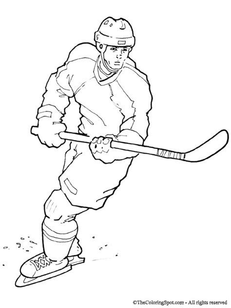 coloring pages of hockey players hockey player audio stories for kids free coloring