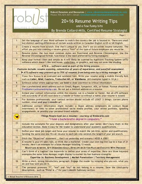 Resume Tips And Keywords Resume Writing Tips Keywords