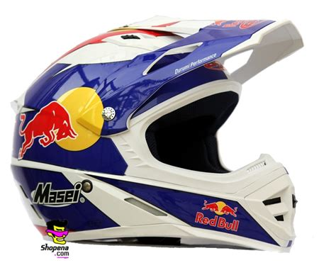 red bull helmet white red bull cirus helmet