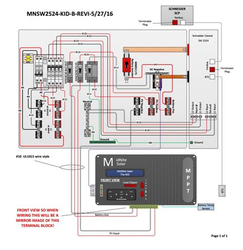 grid inverter wiring diagram wiring diagram manual