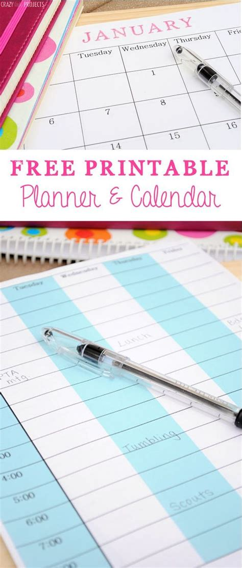printable life planner pages 5 tips to organize your life free printable planner