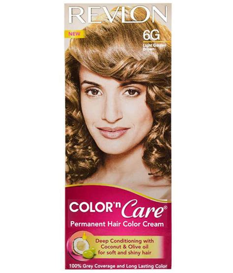6g hair color revlon light golden brown 6g colour n care hair color