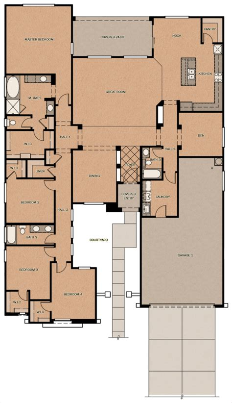 fulton homes floor plans atherton peninsula at queen creek station by fulton homes