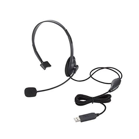 Headset Elecom elecom headset microphone ps4usb one ear overhead 1 8m hs hp21ubk ebay